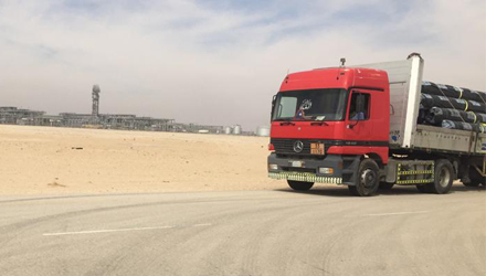 HDPE Delivery in Saudi Arabia