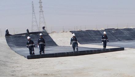 HDPE Installation in Saudi Arabia